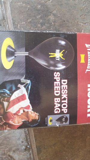 Desk top speed bag for Sale in Athens, GA