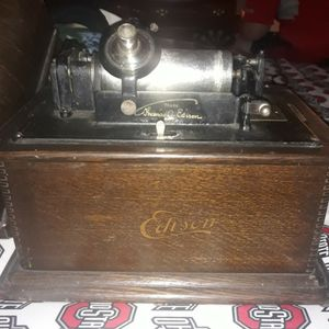1896 Original Edison Phonograph With Everything To Play It Original Music With It for Sale in Columbus, OH