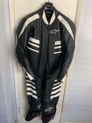 Alpinestars Leather 1 Piece Race Suit (42) for Sale in Arcadia, CA