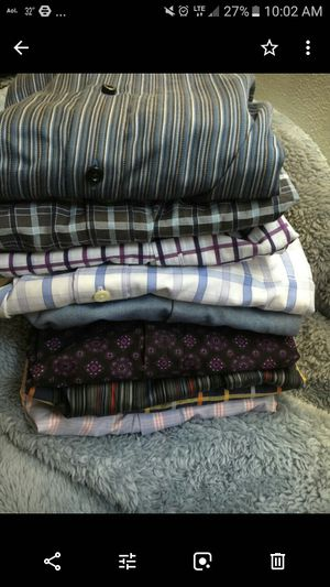 Men 2xl to 3xl Fashion Designer Long sleeves..Lot of 10 for $90 for Sale in Chicago, IL
