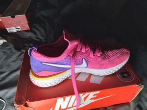 Nike's hot pink,purple, white with a little yellow for Sale in Antioch, CA