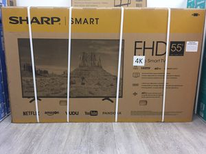 55 INCH SHARP ULTRA 4K SMART TV for Sale in Chino Hills, CA