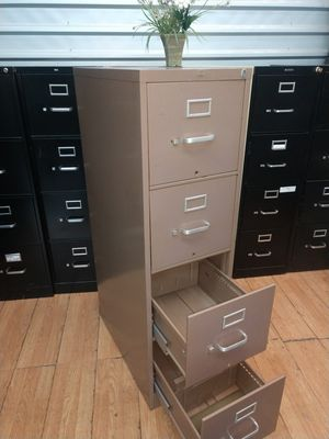 File Cabinet, Brown Color Cabinet, Letter Size, Clean for Sale in Plano, TX