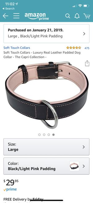 Large dog collar for Sale in Salinas, CA