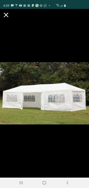 10x30 party tents available for sale brand new in the box hablo espanol for Sale in Clearwater, FL