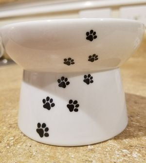 Set of Necoichi Raised Cat Food Bowls (410/Evers) ((Please Read All Info)) for Sale in San Antonio, TX