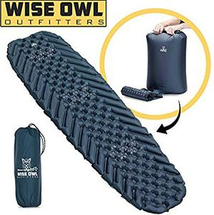 Wise Owl inflatable sleeping bag pad for Sale in Dacono, CO