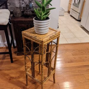 Vintage 1960s Bamboo Plant Stand for Sale in Washington, DC