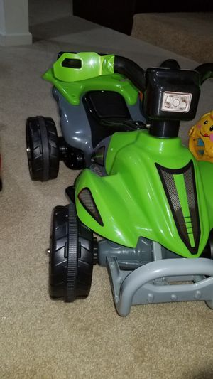 Kids toy ride 2 years old for Sale in Morrisville, NC