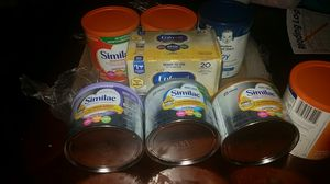 Baby milk (Similac), sensitive,pro advance an soy for Sale in Arlington, VA