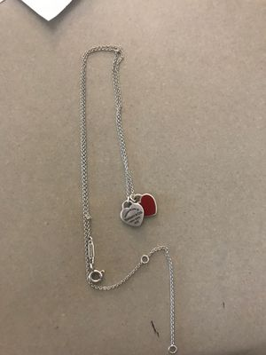 Tiffany & co necklace for Sale in Pickerington, OH