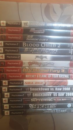 Ps2 games for Sale in Los Angeles,  CA