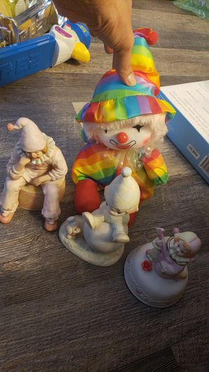 Lot of clowns enesco precious moments for Sale in Pittsburg, CA