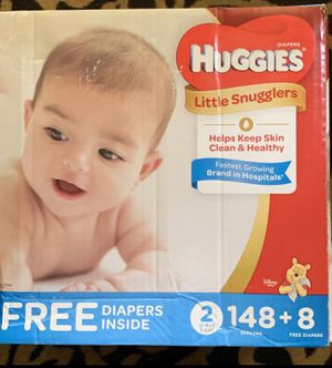 HUGGIES PAMPERS 2 BOXES for Sale in MONTGOMRY VLG, MD