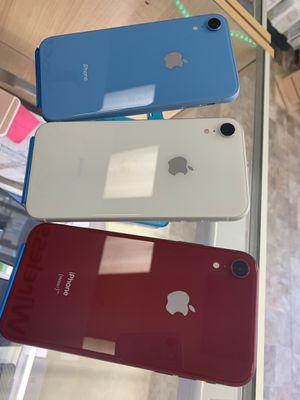 iPhone XR 64gb UNLOCK 599 each. for Sale in Hartford, CT