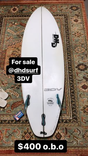 DHD Surfboard 3DV for Sale in Chino Hills, CA