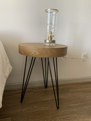 Side table with wire legs for Sale in Atlanta, GA