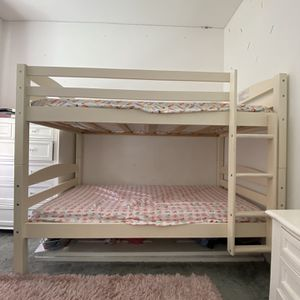 Beige Bunk Beds With Mattresses for Sale in Chula Vista, CA