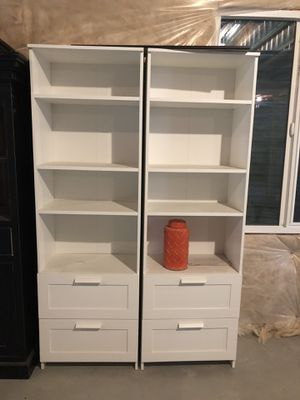 White bookcases for Sale in Bluffdale, UT