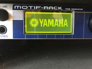 Yamaha Motif Rack Synthesizer $200 OBO for Sale in Stafford, VA