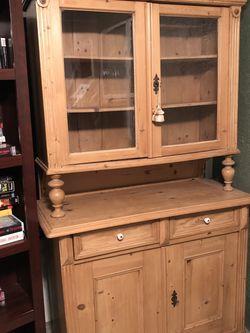 European Pine Antique Hutch for Sale in Orlando,  FL