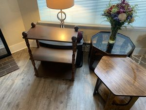 4 Tables FOR $$-20.. First Come, First Serve for Sale in Fircrest, WA