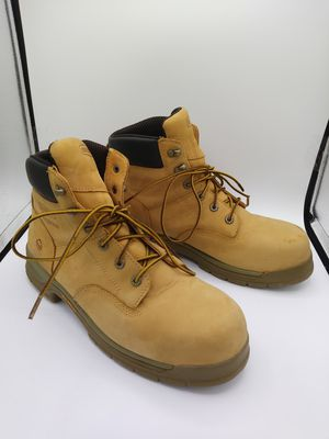 Men's Wolverine NXT Waterproof Steel Toe Work Boots Size 11.5 used for Sale in Round Lake Beach, IL