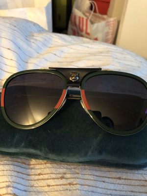 Gucci Sunglasses Worn once. 100% authentic. for Sale in Aurora, CO