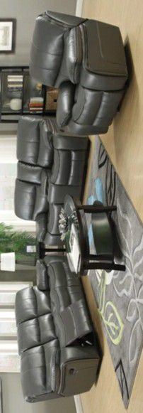Banner Gray Reclining Living Room Set $39 DOWN PAYMENT for Sale in Houston, TX