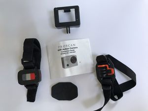 Proscan WIFI Action Camera Mounts, Manual, And Case for Sale in Arroyo Grande, CA