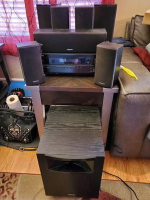 Onkyo surround sound system for Sale in Canby, OR