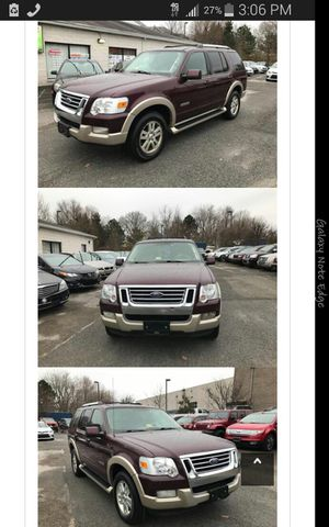 2007 FORD EXPLORER Eddie Bauer 4x4, 3rd row for Sale in Manassas, VA