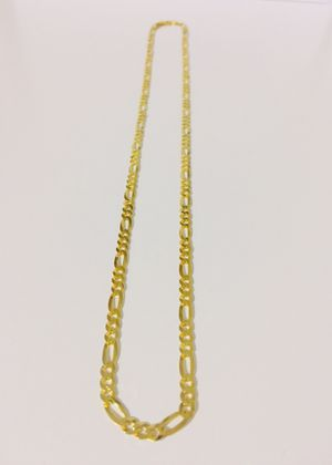 925 Italian Sterling Silver chain plated with 24K gold for Sale in Baldwin Park, CA
