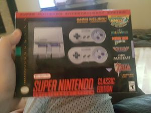 Super Nintendo classic edition brand new for Sale in Everett, WA