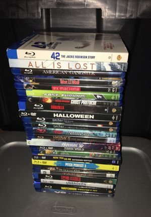Assorted BLU-RAYS - $4 each for Sale in Victorville, CA