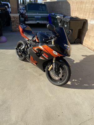 2005 Suzuki gsxr 750 sports bike motorcycle for Sale in Rancho Cucamonga, CA