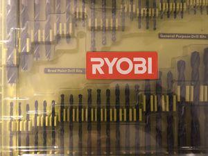 Ryobi 50 piece drill bit set for Sale in Los Angeles, CA