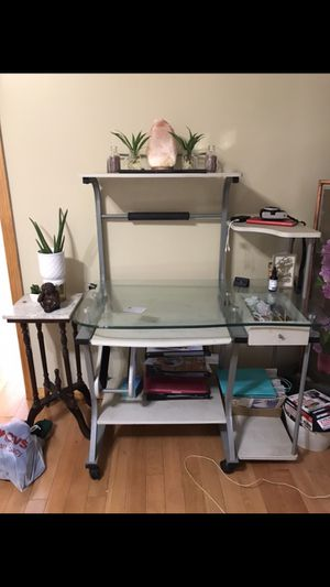 Glass Computer Desk for Sale in Queens, NY