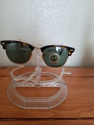 df731ec5b33c2 Rayban clubmaster folding sunglasses tortoise brown for Sale in Riverside