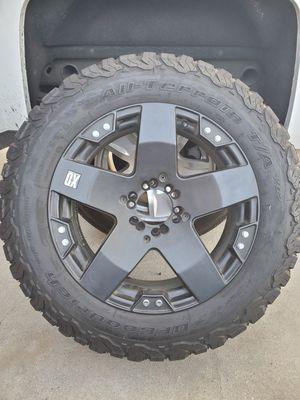 "KMC XD Rockstar 20"" wheels for Sale in Garden Grove, CA"
