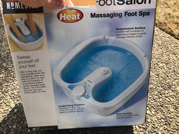 Homedics Massaging Foot Spa