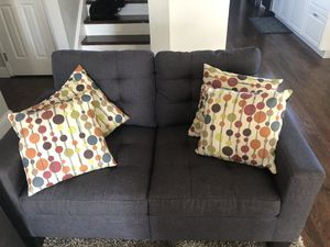 Gray couches like new $330 for Sale in San Jose, CA