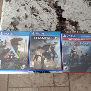 Lot Of 3 PS4 Games for Sale in Arroyo Grande, CA