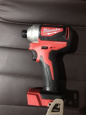 NEW MILWAUKEE IMPACT DRILL BRUSHLESS for Sale in Silver Spring, MD