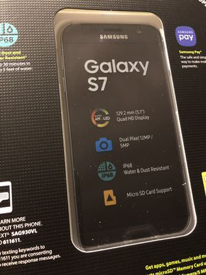 New Samsung Galaxy S7 Total Wireless Straight Talk cell phone for Sale in Tampa, FL