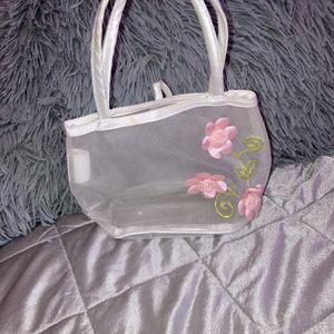 See Through Sheer Flower Purse for Sale in Stonecrest, GA