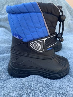 Snow boots for kids toddlers 7,8,9,10,11,12,13,1 toddlers and kids for Sale in Bell Gardens, CA