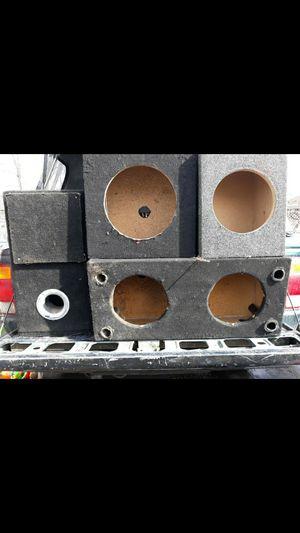 Speaker boxes. for Sale in Wenatchee, WA
