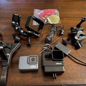 GoPro Hero 7 Silver MotoVlogging Setup for Sale in Corona, CA