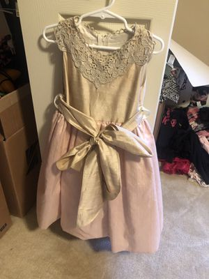 Silk party dress 4T for Sale in West Bloomfield Township, MI